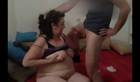 Sister and me lesbian anal domination Sucking is watching a movie on the bed in the